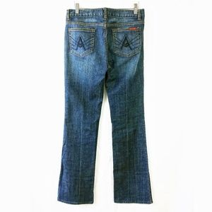 7 For All Mankind bling rhinestone A pocket jeans
